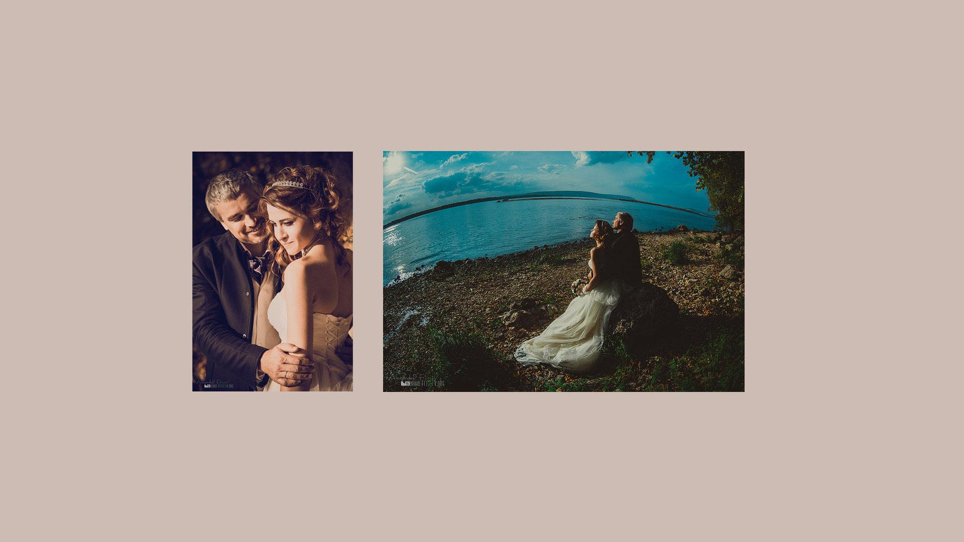 Свадебный диптих- фотосъемка в Самаре
