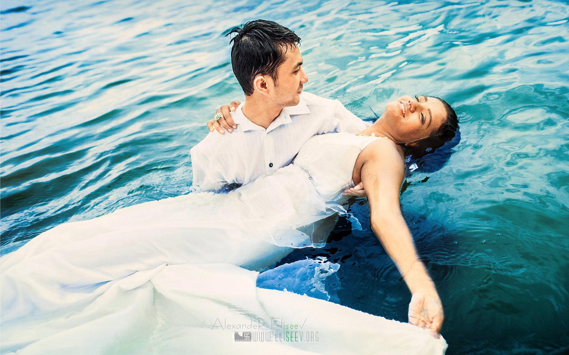 невеста в море