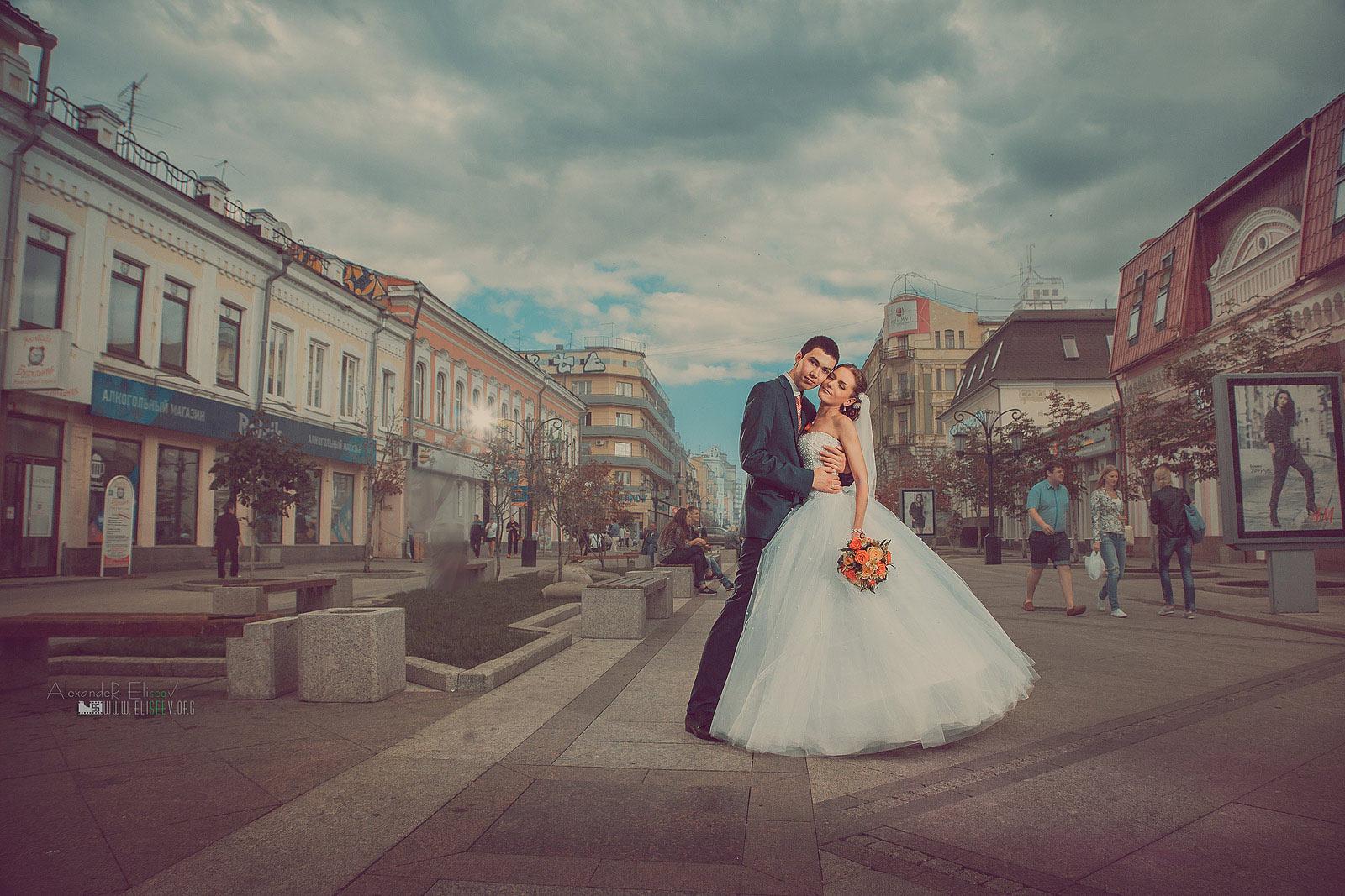 Свадебная фотография в городе Самара