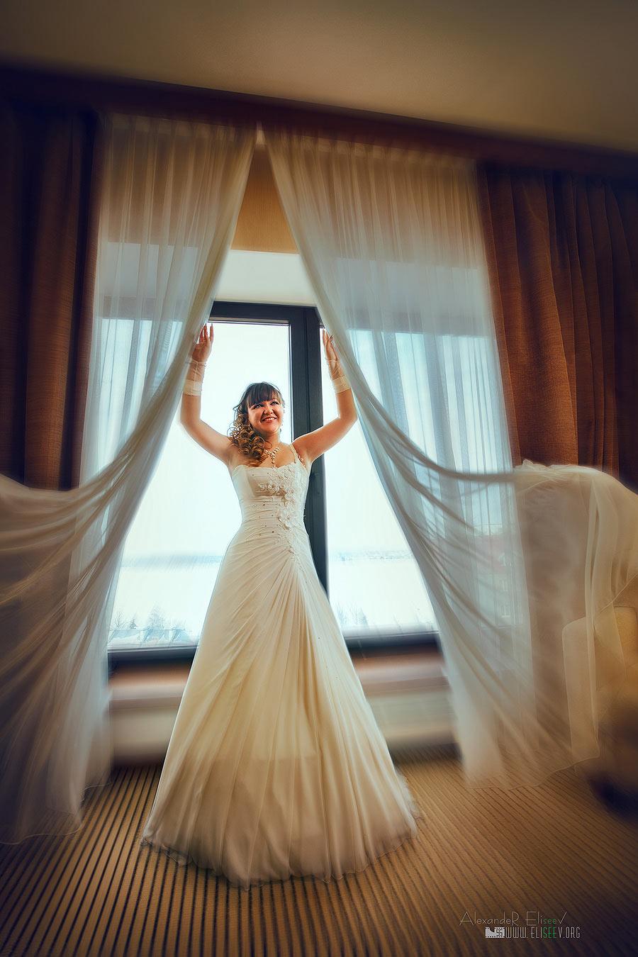 свадебная фотосъемка утра невесты