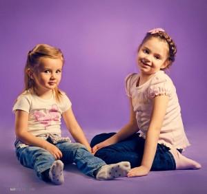 девочки в фотостудии