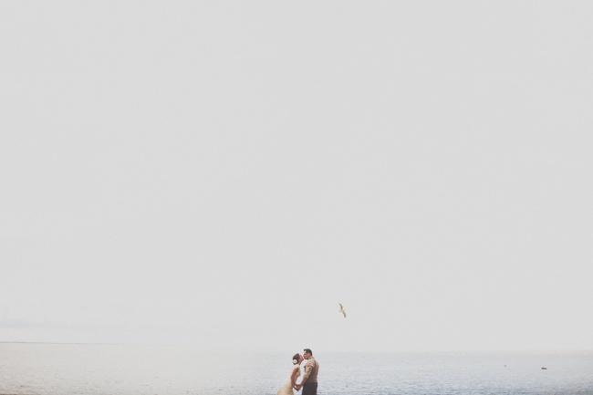 популярный прием Мельтешения на свадебном фото
