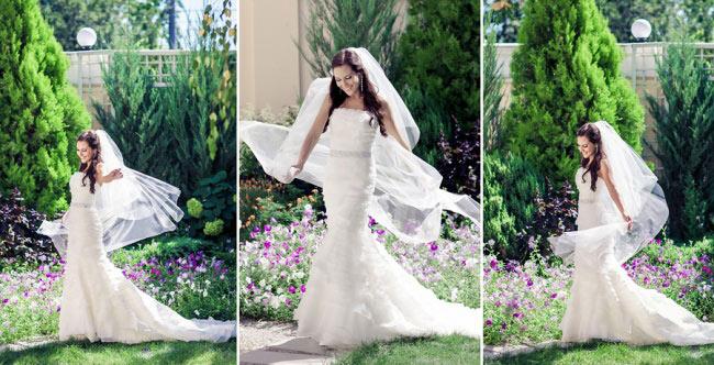 невеста мограет на фото