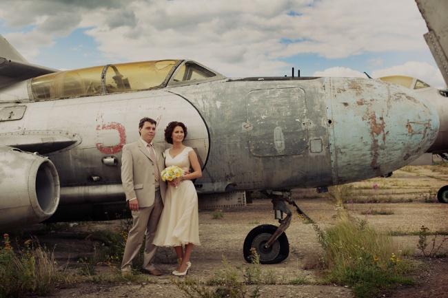 летаем самолетами на свадьбе!