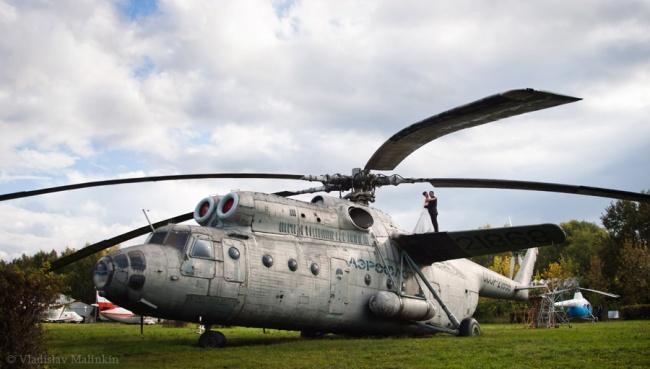 летаем вертолетом на свадьбе!