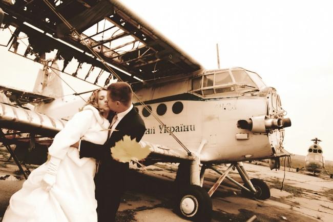 раздолбанный кукурузник -полетаем вместе на свадьбе!