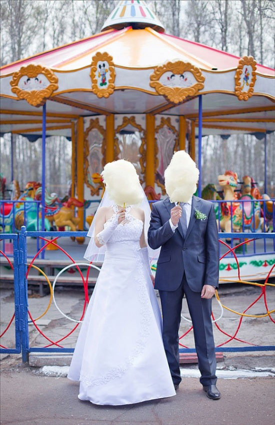свадьба: стой смирно, закрой лицо!
