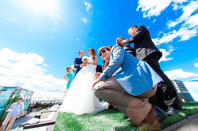 прелести свадебного фото - показываем с другой стороны!
