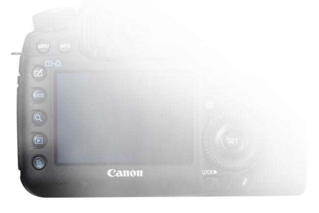 кнопка удаления фото на фотоаппарате