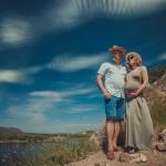 профессиональная семейная фотосъемка на природе- в ожидании чуда