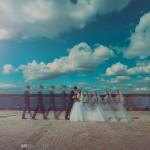 необычная свадебная фотография в Самаре