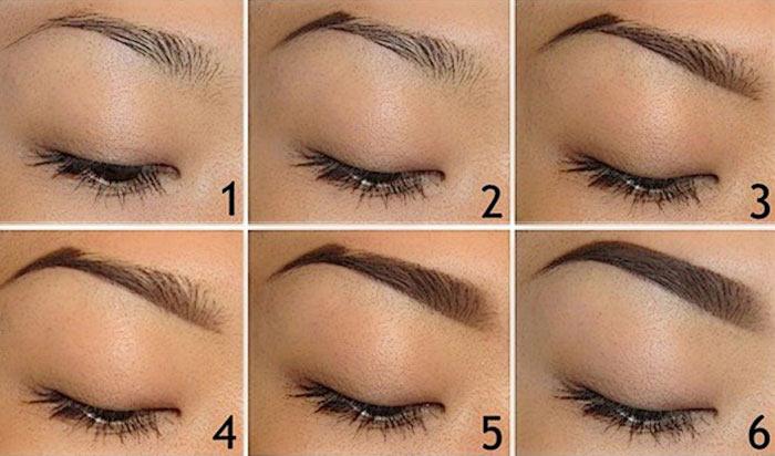 Как сделать или нарисовать брови