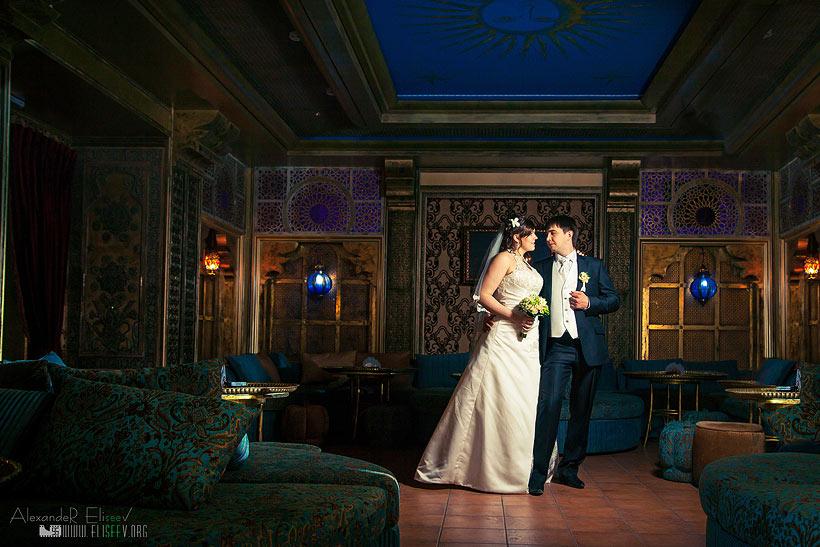 свадебная съемка в интерьере - профессиональная фотосъемка