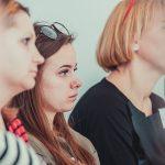 фотографировать аудиторию на мастер классе