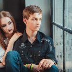история любви -съемка для молодых