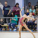 гимнастка с обручем - фотографирую лучшие моменты