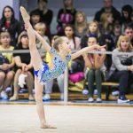индивидуальное выступление юной гимнастки в Самаре - фотограф Александр