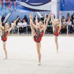 групповые выступления юных гимнасток в Самаре. турнир по художественной гимнастике