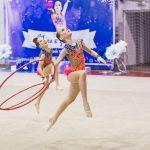 Лучшие моменты на турнире по художественной гимнастике