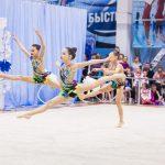 Соревнования по художественной гимнастике в Самаре