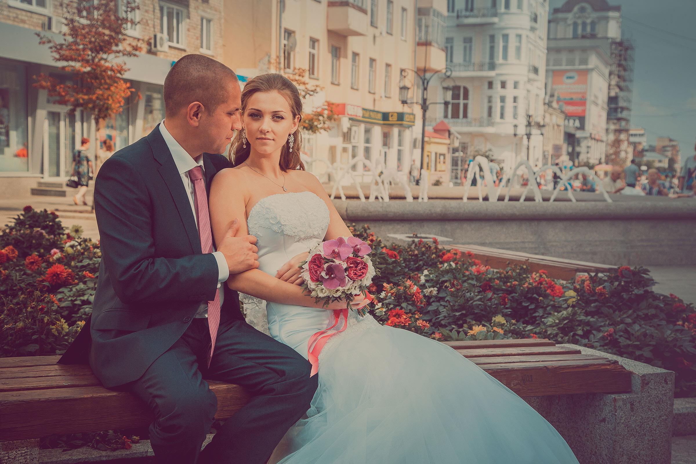 Свадебная фотография- постановка
