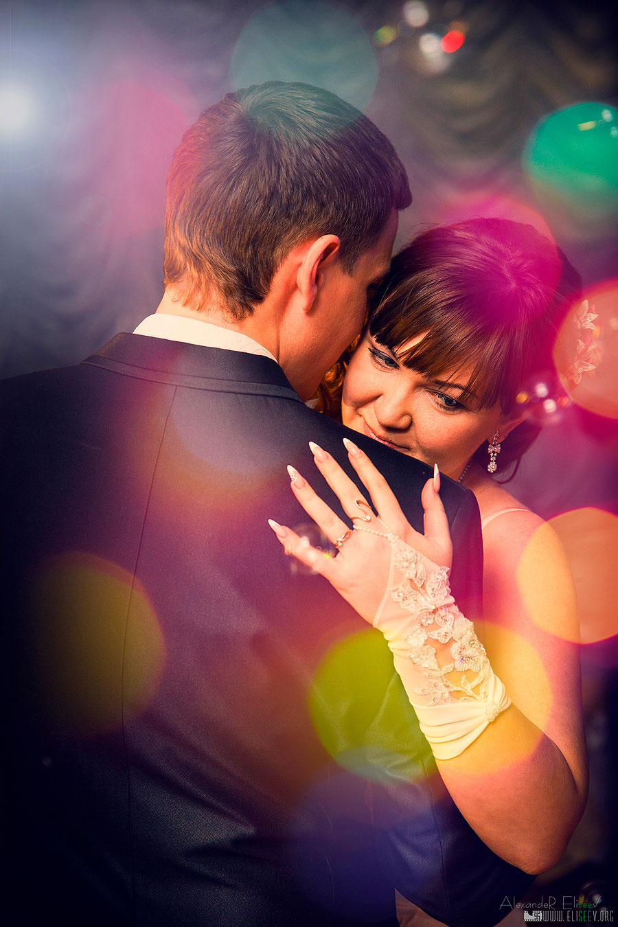 Свадебный танец на банкете
