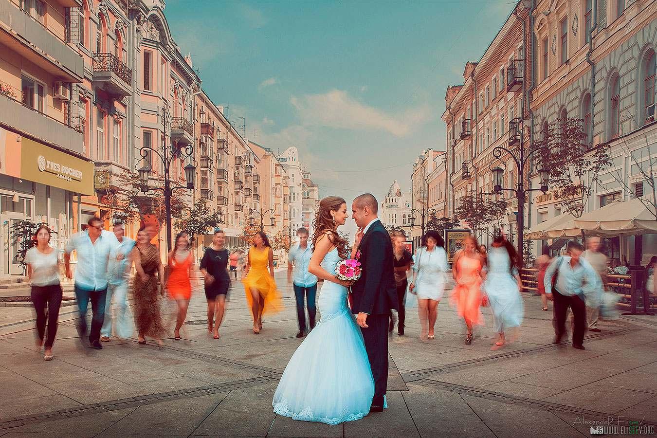 Профессиональная свадебная фотография - лучшая постановка