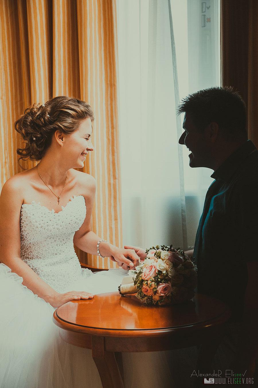 Свадебная фотосъемка с курьезами