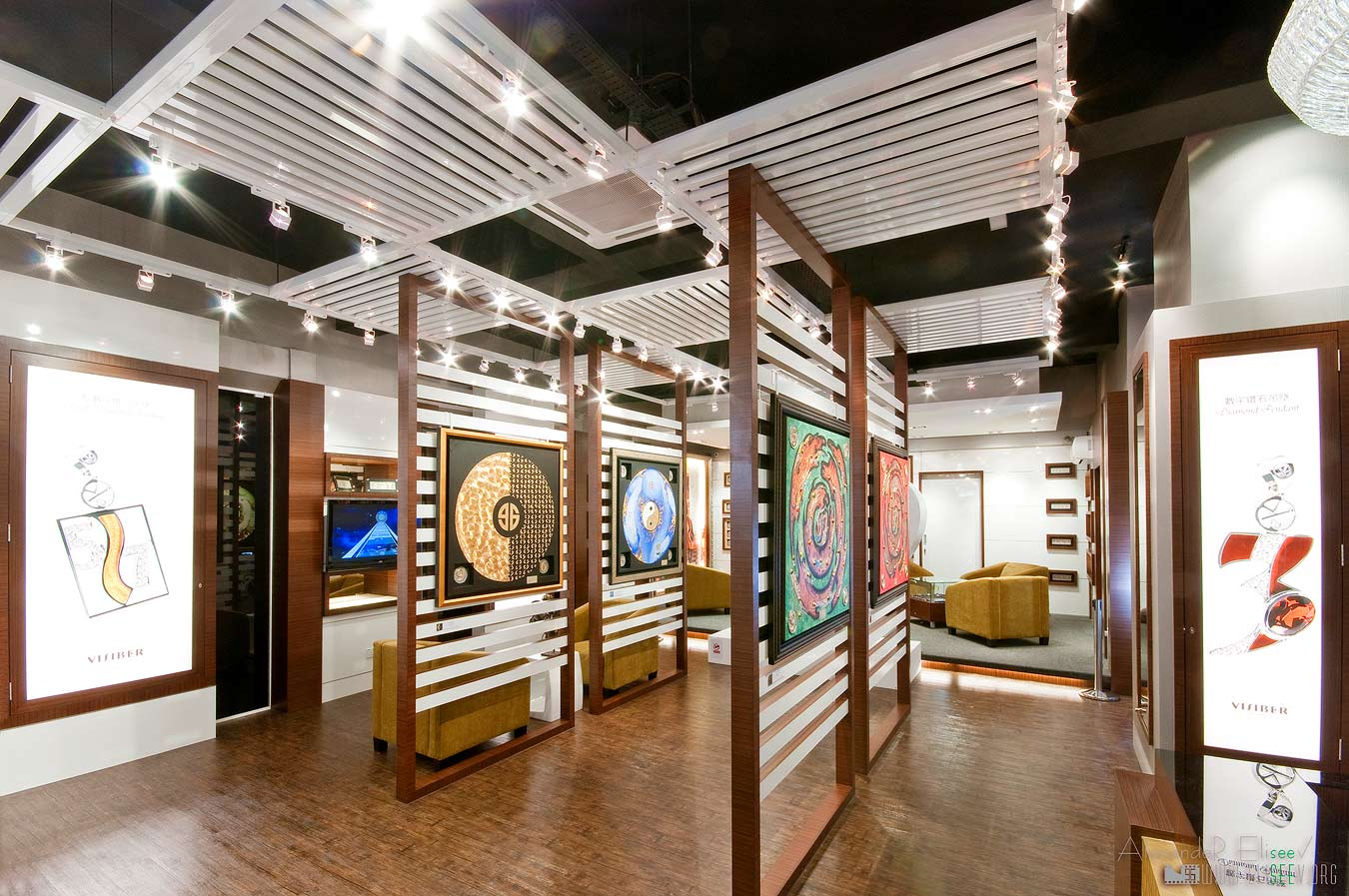 картинная галерея - интерьерный фотограф для выставок